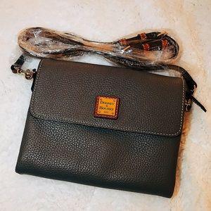 DOONEY & BOURKE Hunter Pebble Leather Crossbody